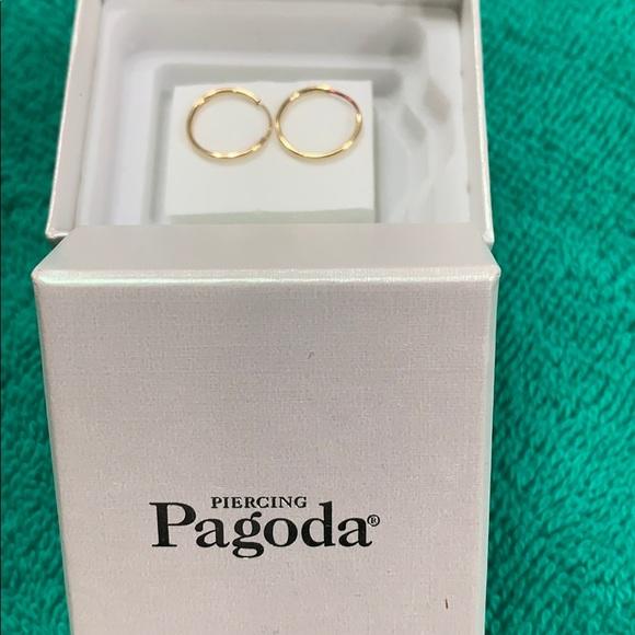 piercing pagoda Jewelry - Gold hoops